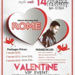 Platinum Recording Artist Rome comes to 88 Keys In Seattle This VIP Valentines