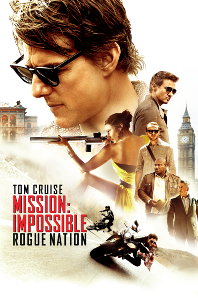 Mission: Impossible – Rogue Nation (PG-13) Christopher McQuarrie