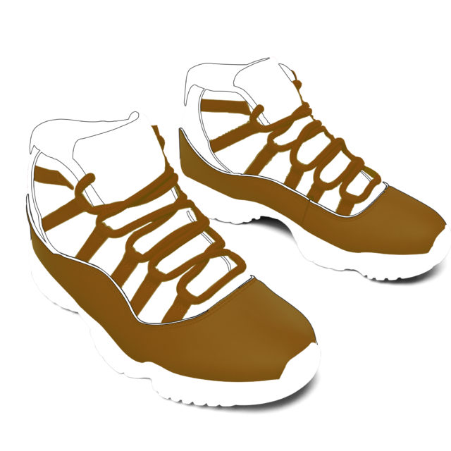 Air Dundeezy's Brown and White