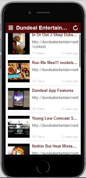 "Download this app ""Dundealent"" in the google play store"