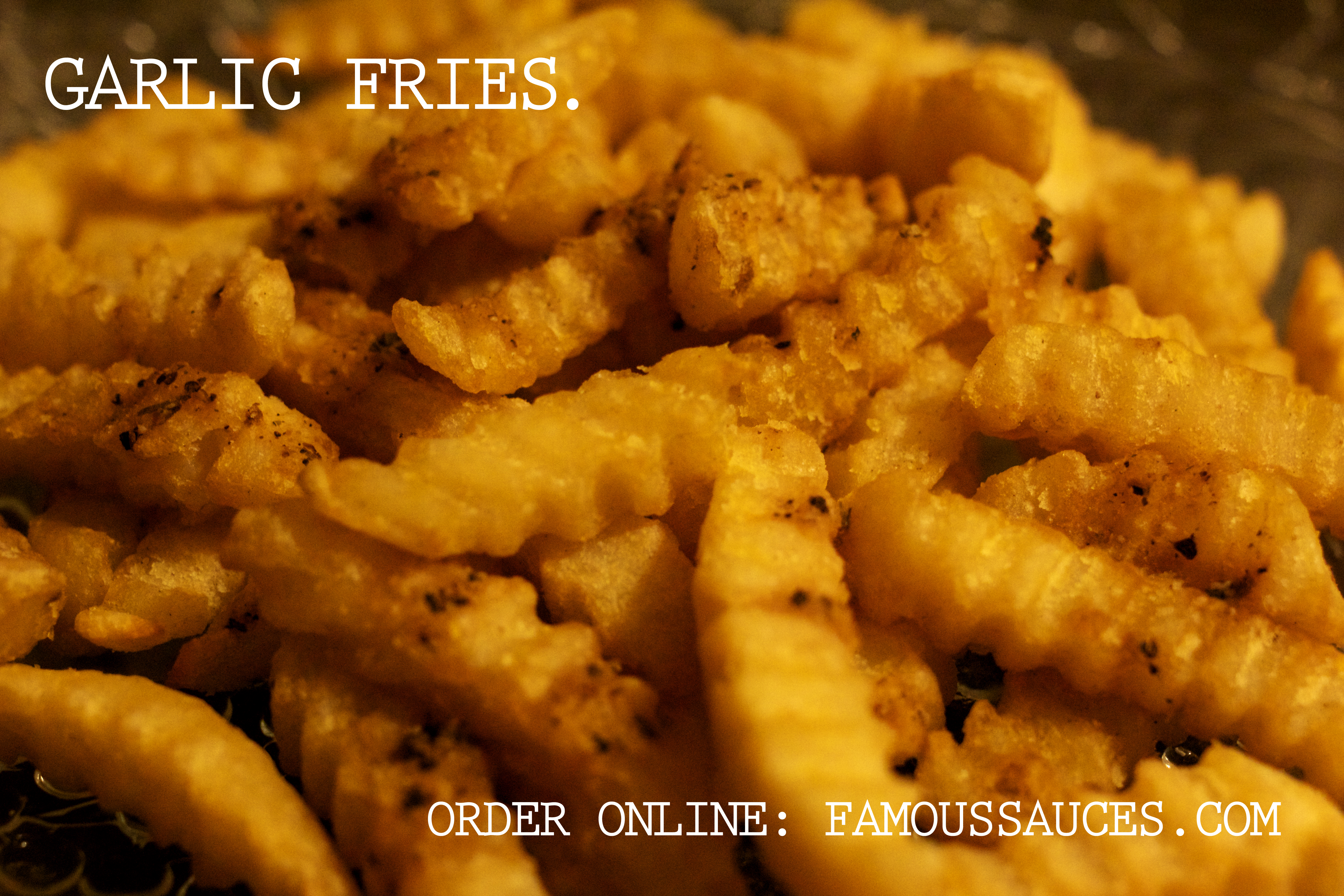 Garlic Fries for your next snack